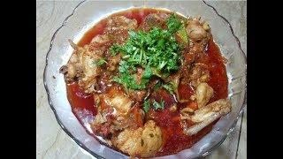 Laal Chicken Karahi Recipe by hamida dehlvi