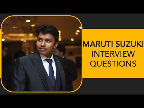 Xxx Mp4 Maruti Suzuki India Ltd Interview Questions And Tips II 3gp Sex