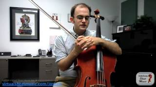 Cello Lesson - How to achieve the best tone on the cello.