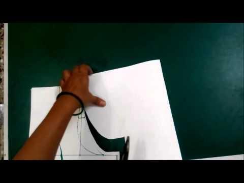 Single Katori Blouse Measurement Paper cutting and Stitching Part 1
