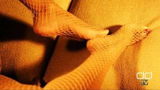 Darla TV - Ebony Foot Fetish, Foot Play Nude Stocking Tease