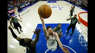 T.J. McConnell discusses 19-point performance in Sixers win over Celtics