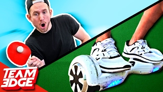Hoverboard Ping Pong Challenge!!