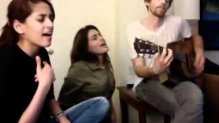 Shweta and Shraddha Pandit Jamming with Joel Shearer (Guitar)