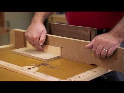 Make a Drawer with Dovetail Joinery Cut with a Router Table