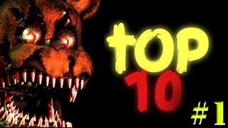 Top 10 - Five Nights At Freddy's [Ep.1] [Infricosatorii]