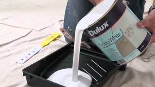 How To Paint Ceilings With Dulux Paint