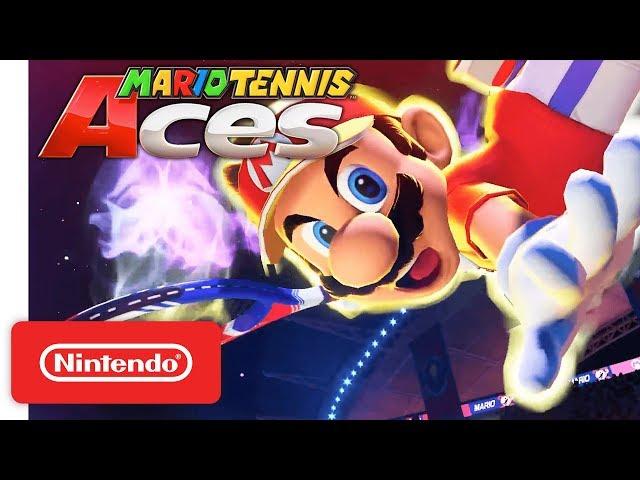 Mario Tennis Aces - Nintendo Switch - Nintendo Direct 3.8.2018