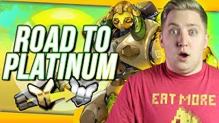 Overwatch: Road to Platinum #5 - Get Behind The Barrier!