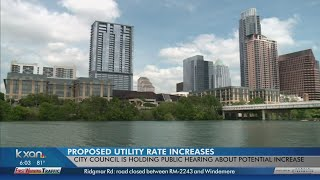 Austin utility bills, property tax proposed to go up