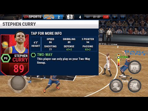 Stephen Curry IS NOT FAIR! HE MAKES EVERY SHOT! NBA LIVE Mobile Gameplay Mp3