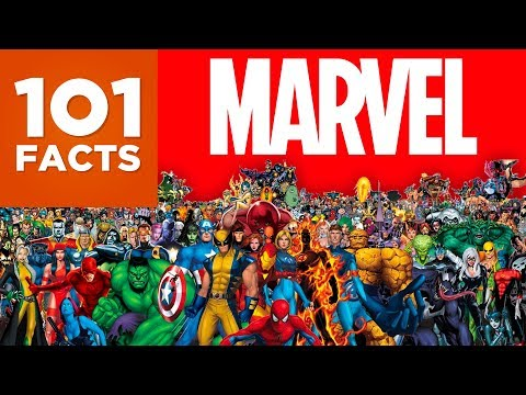 watch 101 Facts About Marvel
