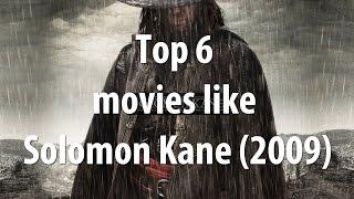 Top 6 movies like Solomon Kane (2009)