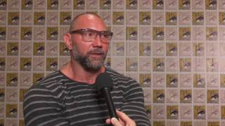 Guardians of the Galaxy Vol. 2: Dave Bautista Comic Con 2016 Movie Interview