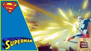 SUPERMAN I 1940s CARTOON | THE MAD SCIENTIST