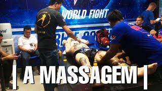 Massagem pré-luta