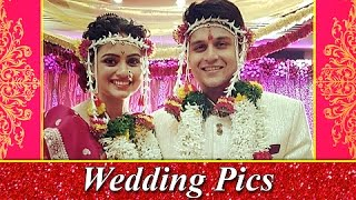 Shruti Marathe Gets Married To Gaurav Ghatnekar | Wedding Pictures Out | Marathi Entertainment