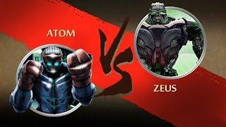 Shadow Fight 2 Real Steel Atom Vs Zeus