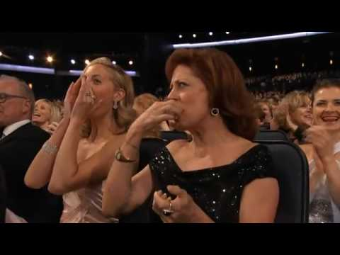 Glee Born to Run Emmys Opening Sketch 2010