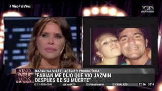 Nazarena Vélez contó que Fabián vio a su hermana después de su muerte