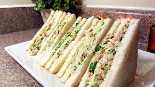 Chicken & Mayonnaise Sandwiches | Quick & Delicious Cuisine