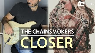 The Chainsmokers ft. Halsey - Closer - Electric Guitar Cover by Kfir Ochaion