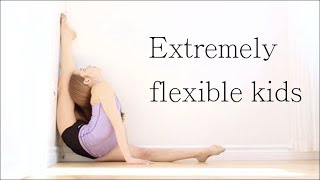 Extremely flexible kids | Compilation