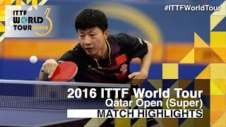 2016 Qatar Open Highlights: Ma Long vs Fan Zhendong (Final)