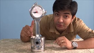 How to make a clock from old engine components - Must Watch