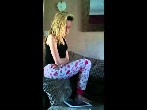 12 year old singing titanium