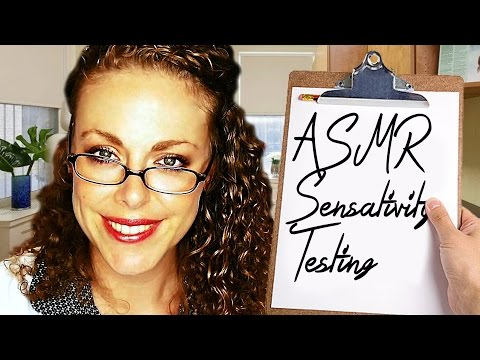 ASMR Sensitivity Test! Sleep Clinic Doctor Exam 3 Role Play, Ear to Ear Whisper Binaural Triggers
