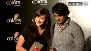 Hiten Tejwani and Gauri Pradhan | Colors Anniversary Bash | 2014