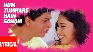 Hum Tumhare Hain Sanam Title Song Lyrical Video | Shahrukh Khan, Madhuri Dixit, Salman Khan