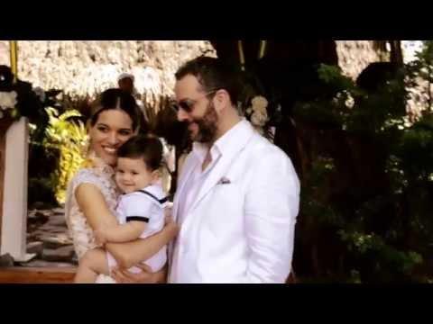 En exclusiva el bautizo del hijo de José Gaviria y Giselle Lacouture