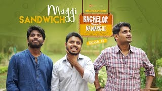 Maggi Sandwich  With Kettle | Bachelor Room lo Bawarchi - Cooking Diary 13 | Chai Bisket Food