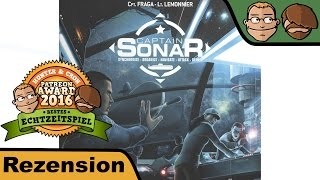 Captain Sonar - Brettspiel - Review