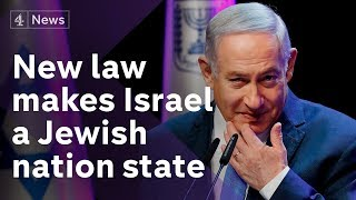 Israel approves law to become a Jewish nation-state