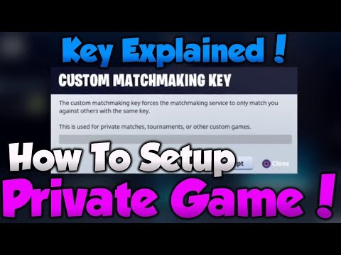Xxx Mp4 NEW How To SETUP Private Games In FORTNITE CONSOLE MOBILE MatchMaking Key Explained 3gp Sex