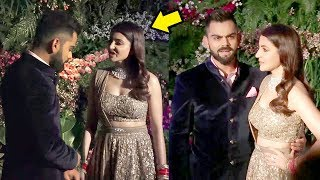 Anushka Sharma FIGHTS With Virat Kohli At WEDDING Reception In Mumbai