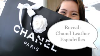 Reveal: Chanel leather espadrilles 2015