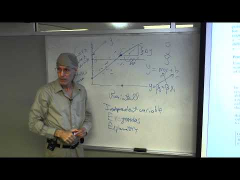Statistics with R: Regression, Lesson 9 by Courtney Brown