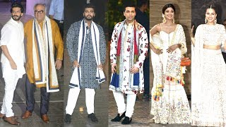 Bollywood Celebs ARRIVE At Sonam Kapoor