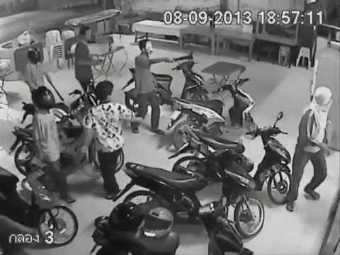 Teenage gang fight cam 3/4