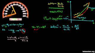 حرکت در یک بعد ۸ - مفهوم شتاب