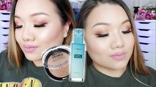Fall Look Testing NEW Drugstore Products | MEI
