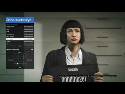 GTA Online Character Creation How to create an asian girl 1