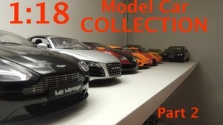 1:18 Model Car Collection Part 2