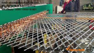 Razor wire fence welding machine, Razor fence mesh machine