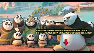 kung fu panda 3 pelicula completa en español latino