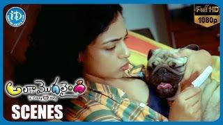 Ala Modalaindi Movie Scenes   Nithya Menon Happy Moments with Rohini   Nani   Sneha Ullal